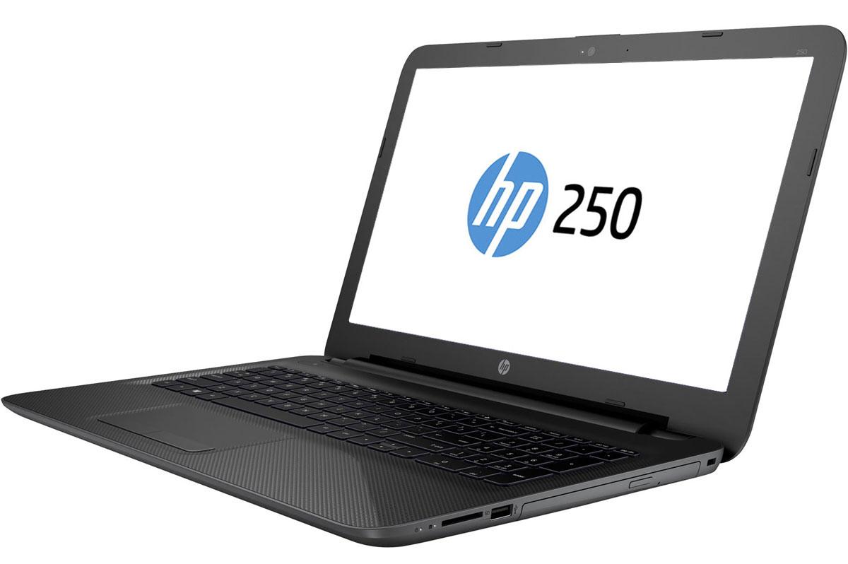HP 250 G4, Grey (T6Q97EA)T6Q97EAHP 250 G4 - недорогой ноутбук, который позволит всегда оставаться на связи. Технологии Intel помогут в выполнении любых бизнес-задач, а прочный корпус защитит HP 250 при переноске. Будьте уверены - HP 250 способен выполнять срочные задачи на ходу. Прочный корпус обеспечивает надежную защиту ноутбука и придает ему деловой внешний вид, соответствующий вашему стилю. Он создан для мобильного использования. Антибликовый экран с диагональю 39,6 см (15,6 дюйма) обеспечивает не только превосходное качество изображения при любом освещении, но и удобство использования ноутбука. С помощью производительных процессоров от Intel можно выполнять любые задачи. Создавайте великолепные визуальные материалы, не замедляя работу ноутбука, со встроенной графической картой Intel. Благодаря модулю беспроводной связи с сертификацией Wi-Fi Certified общаться с коллегами по Интернету и электронной почте можно не только в офисе, но и в любом другом месте с точкой доступа. ...