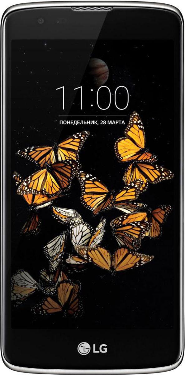 LG K8 K350E, Black Gold