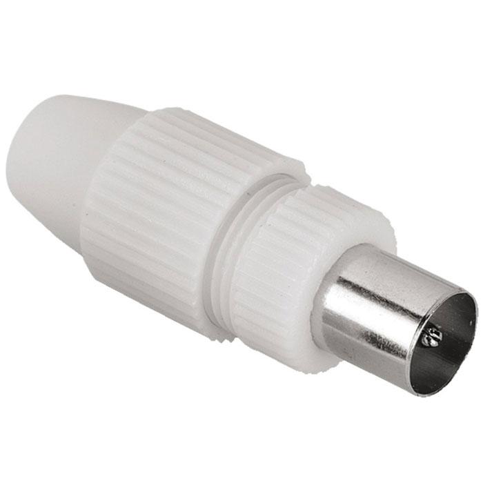 Штекер Hama H-44147 антенный коаксиальный (m) 5-7 мм, White44147Антенный штекер с экранированием Hama H-44147 прост в установке и предназначен для замены сломанного или устаревшего штекера на антенном кабеле. Подходит для кабелей с диаметром 5-7 мм.