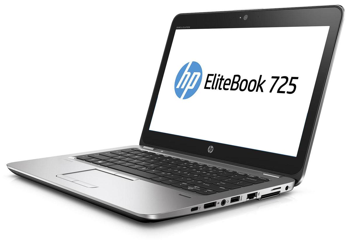 HP EliteBook 725 G3, Silver Black Metal (T4H20EA)T4H20EAОткройте для себя возможности тонкого, легкого и недорогого ноутбука HP EliteBook 725. Его мощные средства для совместной работы и связи помогут в решении важных задач и обеспечат развитие бизнеса. Идеальное решение для мобильной работы, которое обеспечивает максимальную надежность, высокую производительность и мощные средства работы с графикой в управляемых ИТ-средах по сравнению с другими устройствами своего класса. Ультратонкий корпус ноутбука оснащен всеми необходимыми разъемами, благодаря чему вам больше не понадобятся дополнительные переходники. Используйте передовую технологию автоматического восстановления BIOS, HP Sure Start, для защиты устройства от атак. Используйте средства управления HP Touchpoint Manage и DASH для мониторинга работы ноутбука. Забудьте о стационарных телефонах: ноутбук HP EliteBook 725 с аудиосистемой Bang & Olufsen обеспечивает высокое качество звука для таких приложений, как Skype для бизнеса....