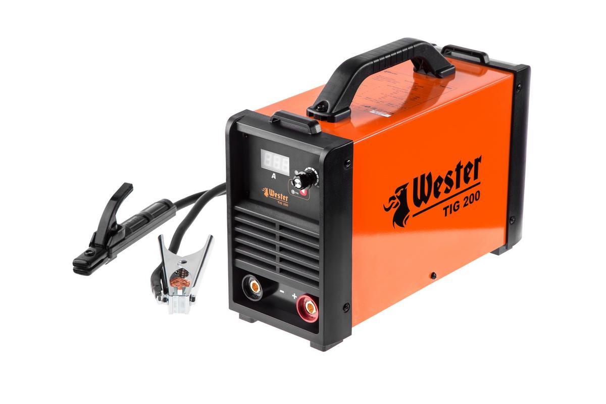 Инвертор сварочный Wester TIG 200 284339