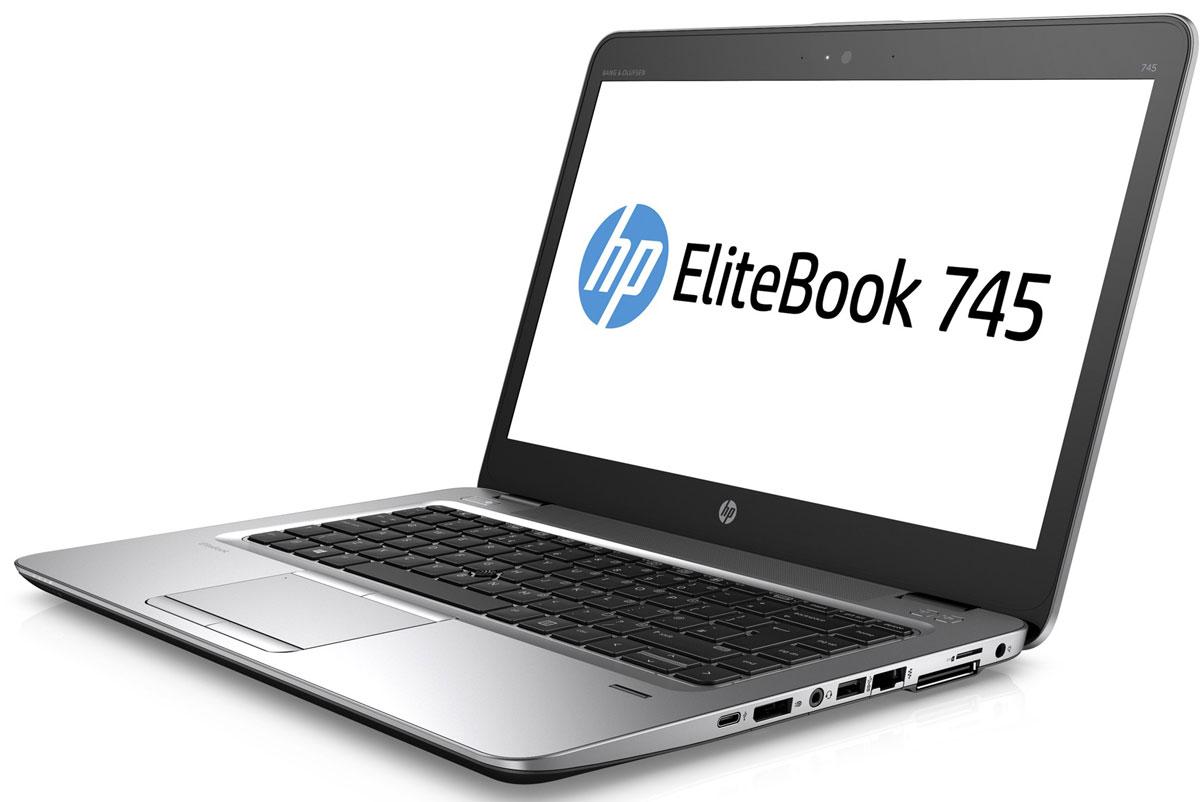 HP EliteBook 745 G3, Silver Black Metal (P4T38EA)