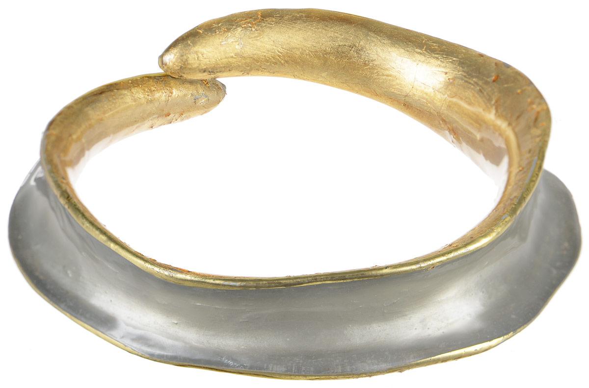 Браслет Lalo Treasures Transcend II, цвет: золотой, серый. Bn2521-2Bn2521-2Оригинальный браслет Lalo Treasures Mon Amour выполнен из ювелирной смолы. Стильное украшение поможет дополнить любой образ и привнести в него завершающий яркий штрих.