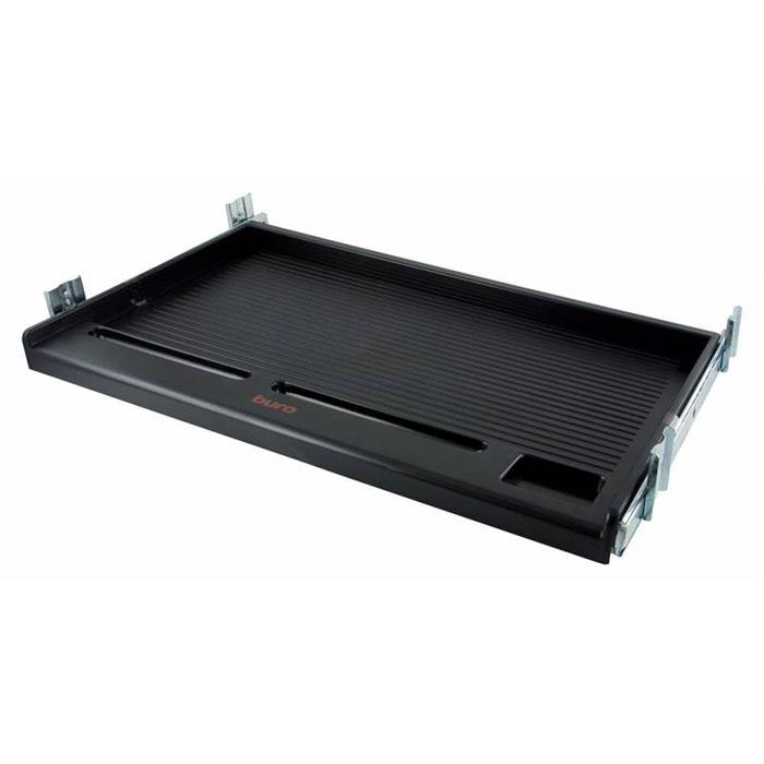 Подставка для клавиатуры Buro KB002B, BlackKB002BЭргономичная подставка для клавиатуры Buro KB002B подходит под стандартные клавиатуры и оснащена надежными стальными креплениями, а также углублениями для дополнительных аксессуаров. Она станет прекрасным помощником для вас как в офисе, так и дома.