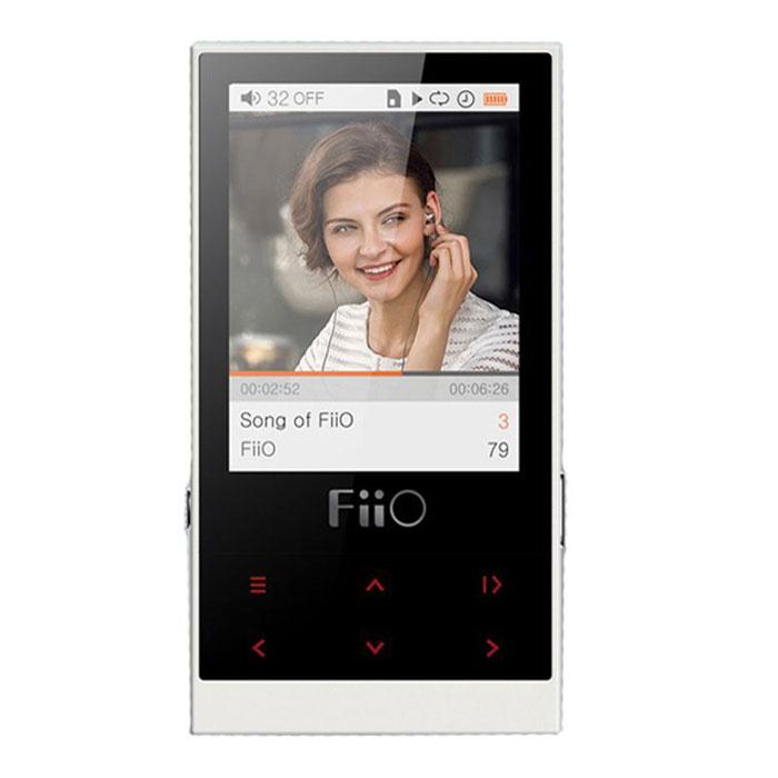 Fiio M3, Ivory MP3-плеер15118272Корпус Fiio M3, выполненный литьем под высоким давлением, и гармоничная цветовая гамма формируют сдержанный эстетический посыл. Матовое покрытие с защитой от ультрафиолета предназначено для того, чтобы плеер было удобно держать в руке. Шесть кнопок управления с подсветкой на передней панели, выполненные на общей динамической панели, дают доступ ко всем функциям навигации по нажатию (удержанию) пальца. FiiO M3 работает 24 часа в режиме непрерывного воспроизведения, позволяя наслаждаться музыкой нон-стоп в течение длительных поездок.