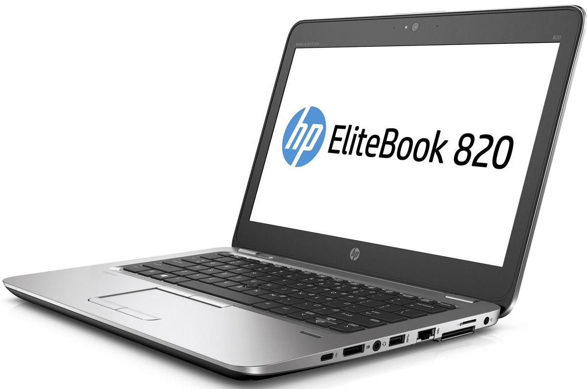 HP EliteBook 820 G3, Silver Black (T9X46EA)