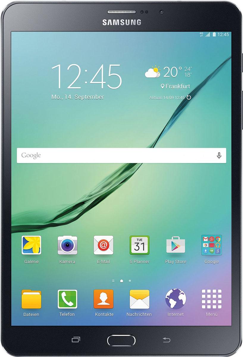 Samsung Galaxy Tab S2 8.0 SM-T719, BlackSM-T719NZKESERПланшет Samsung Galaxy Tab S2 выполнен из цельно металлического корпуса с толщиной всего 5.6 миллиметров и по праву является самым тонким планшетом в мире. При весе всего 272 грамма и диагональю 8 дюймов является еще и самым лёгким в своём сегменте. Стоит отметить и форм-фактор дисплея, с соотношение сторон 4:3, с таким дисплеем гораздо комфортнее пользоваться социальными сетями и интернет браузером или просто читать книгу. Планшет Samsung Galaxy Tab S2 обладает потрясающим Super AMOLED дисплеем с разрешением 2048x1536 пикселей. Два четырёхъядерных процессоров с чистотой 1,9 ГГц и 1,3 ГГц, 3 гигабайта оперативной памяти и 32 встроенной, которую можно увеличить картой памяти MicroSD до 128 гигабайт. Основная камера, делает отличные фото даже при слабом освещении, благодаря 8 мегапикселям и светосилы 1.9, а фронтальная, 2.1 мегапикселя для скайпа и селфи. Для зашиты персональных данных воспользуйтесь инновационным сканером отпечатка пальцев. Или блокируйте...