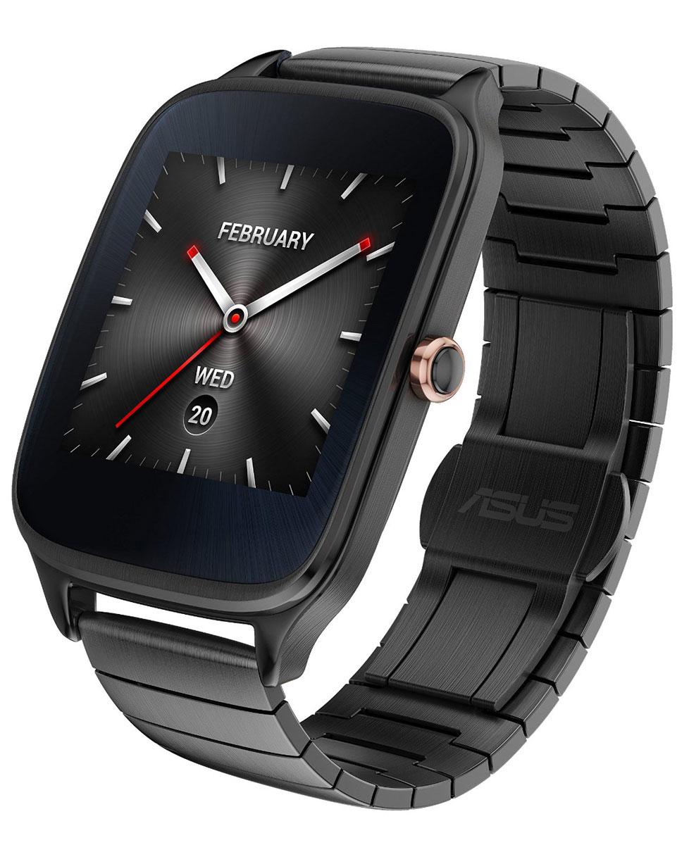 ASUS ZenWatch 2 WI501Q(BQC), Gunmetal смарт-часы2MGRY0010Asus ZenWatch 2 - это стильные часы с металлическим ремешком и мощной функциональностью. Их корпус доступен в двух размерах, позволяя подобрать идеальный вариант для любой руки. Корпус часов изготавливается из высококачественной нержавеющей стали. Отражая традиционный дизайн часов, на корпусе Asus ZenWatch 2 имеется металлическая кнопка, которая используется в качестве элемента управления. Девять сменных ремешков порадуют вас различными сочетаниями цвета и материала. Помимо 50 стандартных циферблатов можно создавать свои собственные варианты оформления экрана часов с помощью приложения FaceDesigner. С помощью часов Asus ZenWatch 2 можно легко обмениваться короткими текстовыми сообщениями, смайликами и рисунками с друзьями и близкими. Просматривайте важную информацию и реагируйте на нее простым прикосновением к экрану или с помощью голосовой команды. Встроенный в часы шагомер обладает высокой точностью, позволяя пользователю следить за своей...