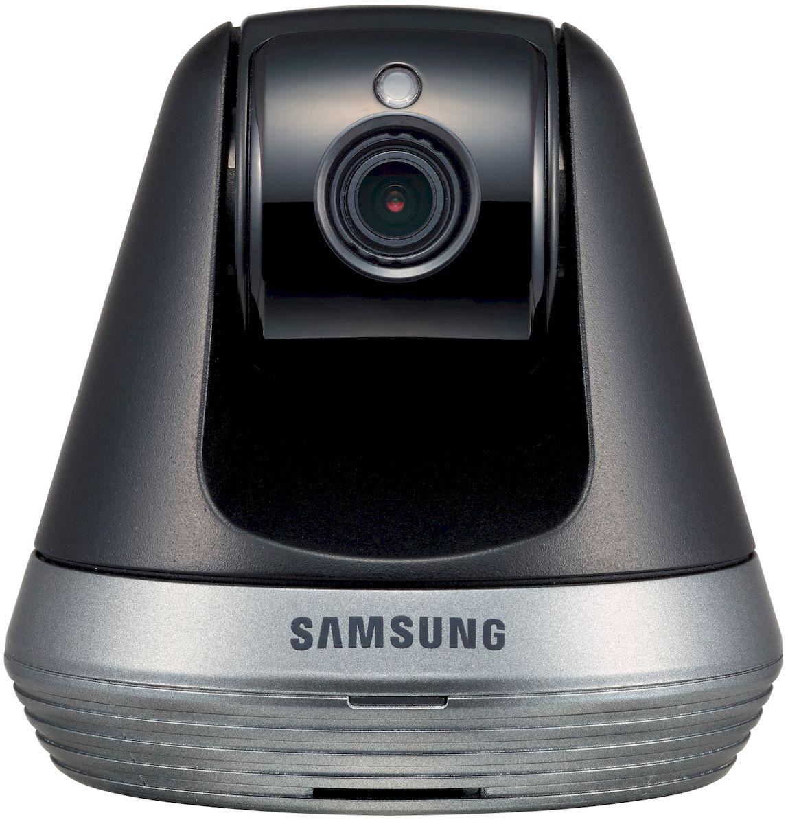 Samsung Видеоняня SmartCam SNH-V6410PNSNH-V6410PNВидеоняня от всемирно известной торговой марки Samsung. Оснащена всеми необходимыми функциями для комфортного и безопасного удаленного контроля за ребенком. Wi-Fi видеоняня непрерывно отслеживается звуки и движение в детской комнате. Если ваш малыш расплачется или, проснувшись начнет двигаться, то видеоняня Samsung незамедлительно оповестит вас с помощью уведомления на смартфоне, планшете или персональном компьютере. Видеоняня Samsung SmartCam SNH-V6410PN представляет из себя камеру, которая подключается к домашней сети Wi-Fi, а родительским блоком выступает ваш планшет, смартфон или компьютер. Наблюдать за ребенком можно не только дома, но и на любом удалении, используя интернет в вашем мобильном устройстве. Благодаря высокому качеству, которым славится продукция Samsung, видеоняня обеспечивает надежный круглосуточный мониторинг детской комнаты. Высокое качество потокового видео Full HD 1080p, обеспечивает детальное изображение в...