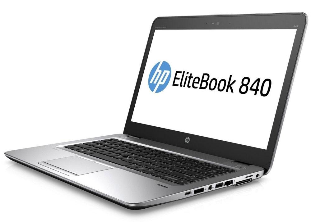 HP EliteBook 840 G3, Silver Black Metal (T9X24EA)T9X24EAНевероятно тонкий и легкий ноутбук HP EliteBook 840 G3 обеспечивает производительность корпоративного уровня. Это отличное решение для творчества, общения и совместной работы как в офисе, так и за его пределами. Идеальное решение для мобильной работы, которое обеспечивает максимальную надежность, высокую производительность и мощные средства работы с графикой в управляемых ИТ-средах по сравнению с другими устройствами своего класса. Мобильная мощность Этот мощный ноутбук на базе ОС Windows 7 Pro оснащен аккумулятором повышенной емкости, процессором Intel, оперативной памятью DDR4 и твердотельным накопителем для эффективной работы с ресурсоемкими бизнес-приложениями и быстрого доступа к данным. Тонкий корпус со всеми необходимыми разъемами В корпусе ноутбука HP EliteBook 840 G3 есть все необходимые разъемы, так что вам больше не придется беспокоиться о переходниках. Ультратонкий и легкий ноутбук толщиной всего 18,9 мм обладает...