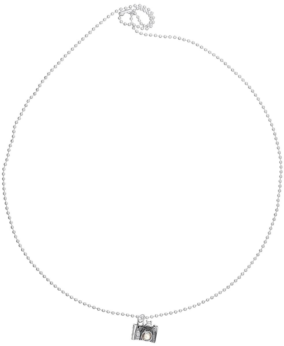 Кулон Mitya Veselkov Фотоаппарат, цвет: серебряный. PDV-04PDV-04Оригинальный кулон Mitya Veselkov изготовлен из качественного металла и искусственной кожи. Декоративная часть кулона выполнена в виде небольшой фигурки фотоаппарата. Интересный дизайн кулона дополнит ваш образ и добавит оригинальности.