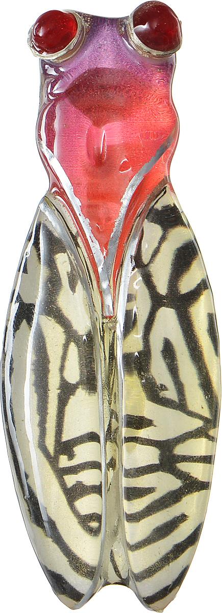 Брошь Lalo Treasures Insect, цвет: желтый, красный. 17661766Яркая дизайнерская брошь от Lalo Treasures станет отличным дополнением к вашему стилю. Она изготовлена из качественной ювелирной смолы и металлического сплава. Данная брошь выполнена в виде насекомого. Брошь надежно и легко фиксируется на вашей одежде с помощью замка-булавки. Оригинальный дизайн позволит вашему образу быть ещё ярче и создать собственный неповторимый стиль.
