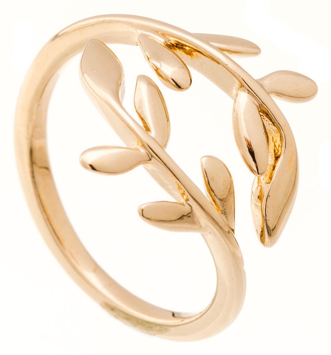 Jenavi, Коллекция Young 2, Райта (Кольцо), цвет - золотой, , размер - 18f650p090Коллекция Young 2, Райта (Кольцо) гипоаллергенный ювелирный сплав,Позолота, вставка без вставок, цвет - золотой, , размер - 18