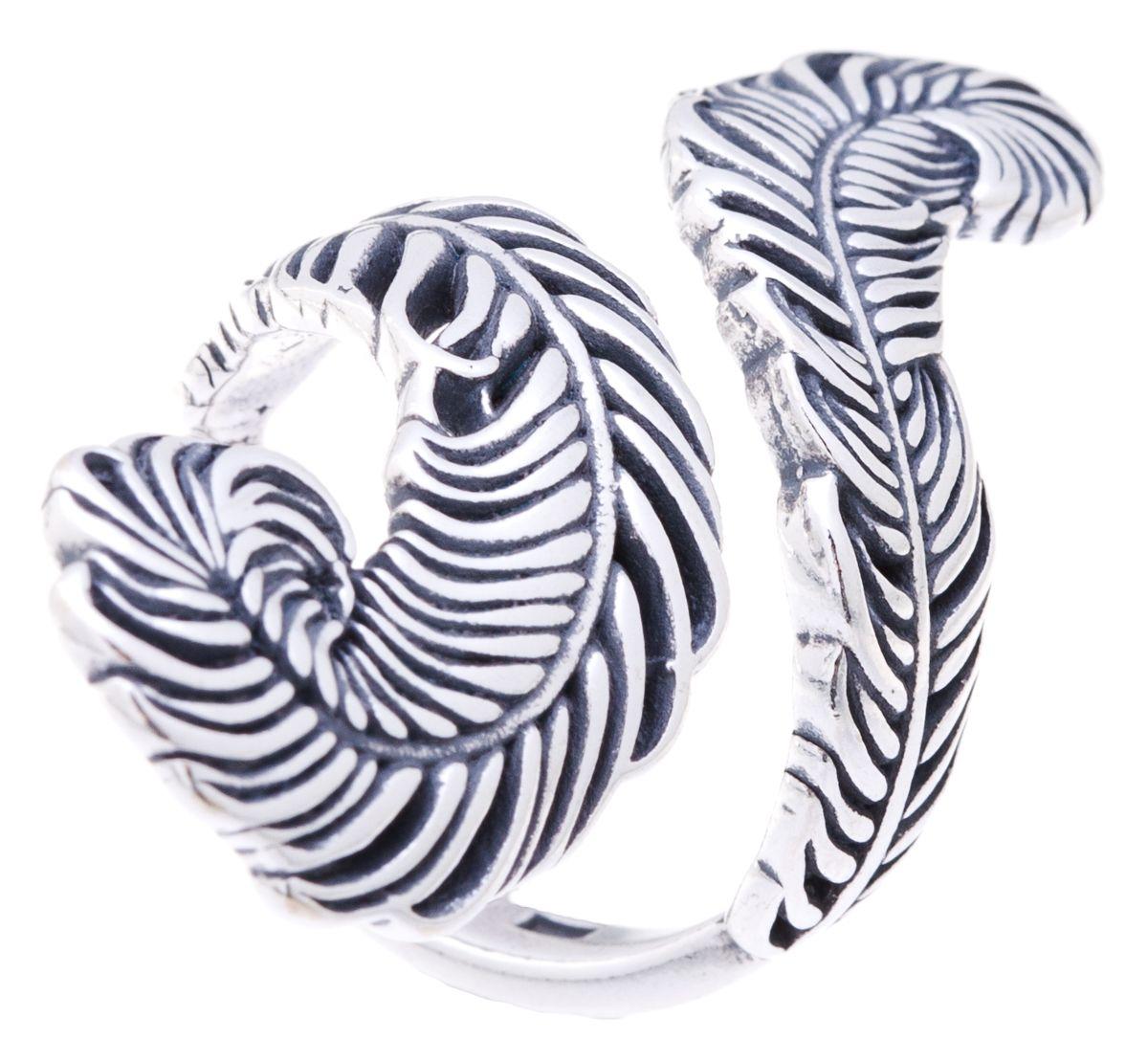 Jenavi, Коллекция Feather, Гис (Кольцо), цвет - серебро, , размер - 20f6783090Коллекция Feather, Гис (Кольцо) гипоаллергенный ювелирный сплав,Черненое серебро, вставка без вставок, цвет - серебро, , размер - 20