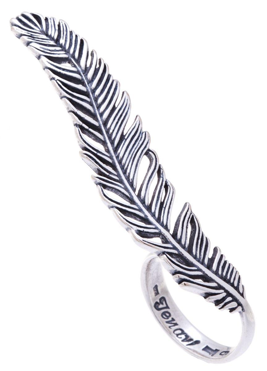 Jenavi, Коллекция Feather, Лума (Кольцо), цвет - серебро, , размер - 19f6793090Коллекция Feather, Лума (Кольцо) гипоаллергенный ювелирный сплав,Черненое серебро, вставка без вставок, цвет - серебро, , размер - 19