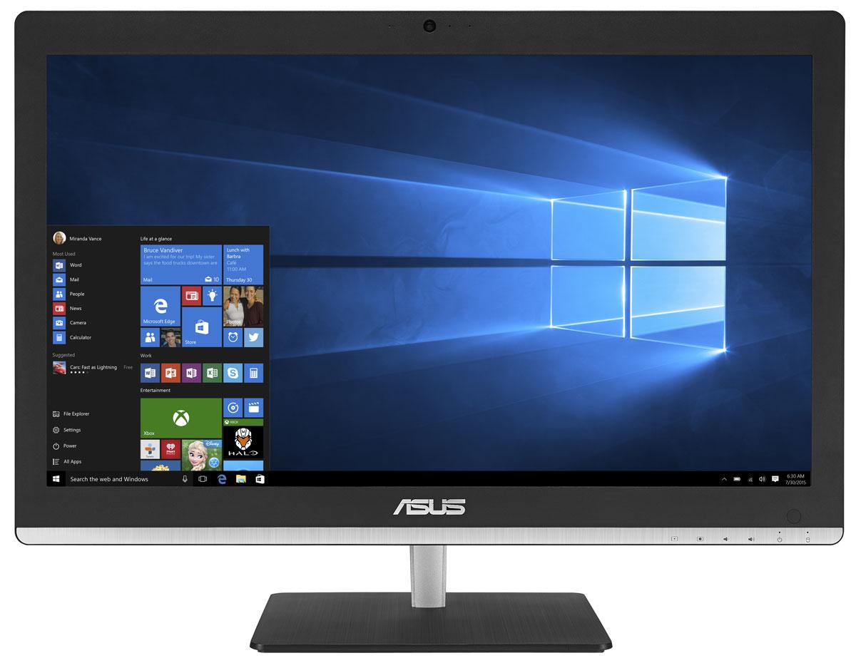 Asus Vivo AiO V220ICUK, Black моноблок (V220ICUK-BC012X)V220ICUK-BC012XВ тонком и компактном корпусе моноблока Asus Vivo AiO V220ICUK разместились все компоненты современного компьютера - дисплей, процессор, видеокарта, память, диск и многое другое. Функциональность и компактность. Это основные принципы, применяемые Asus в проектировании настольных ПК. Современный моноблок - это компактное устройство с полным набором возможностей настольного компьютера. Благодаря тонкому корпусу он не занимает много места на столе, способствуя созданию уютной обстановки в помещении. Стильная серебристая подставка, используемая в моноблоке Asus Vivo AiO V220ICUK, придает ему дополнительную изящность. Уникальный шарнирный механизм спрятан под задней панелью, что делает внешний вид устройства еще более утонченным и органичным. Данная модель обладает ультратонким экраном со светодиодной подсветкой, обеспечивающим высокую яркость и контрастность изображения. Благодаря широким углам обзора матрицы картинка на экране моноблока...