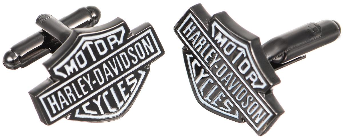 Запонки мужские Mitya Veselkov Harley, цвет: графитовый. ZAP-014ZAP-014Запонки современного дизайна Mitya Veselkov Harley изготовлены из металлического сплава. Изделие застегивается на вращающийся штырек. Данная модель представлена в форме таблички с надписью Motor Cycles Harley Davidson. Стильный аксессуар подчеркнет ваш образ, а также придаст элегантность и неповторимость имиджу.