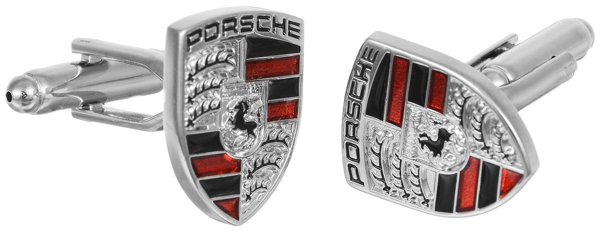 Запонки мужские Mitya Veselkov Порш, цвет: серебряный. ZAP-253ZAP-253Запонки современного дизайна Mitya Veselkov Порш изготовлены из металлического сплава. Изделие застегивается на вращающийся штырек. Данная модель представлена в виде символа Porsche. Стильный аксессуар подчеркнет ваш образ, а также придаст элегантность и неповторимость имиджу.