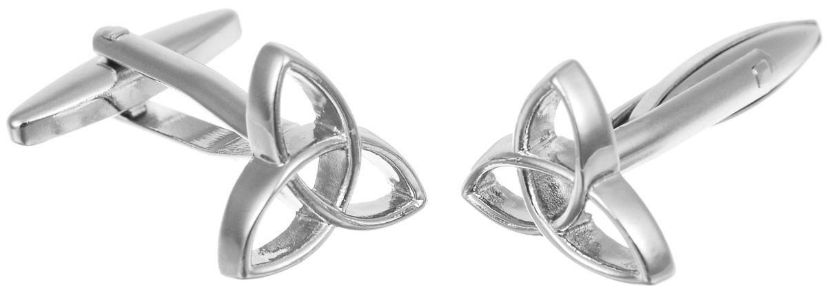 Запонки мужские Mitya Veselkov Кельтский узор, цвет: серебряный. ZAP-246ZAP-246Запонки современного дизайна Mitya Veselkov Кельтский узор изготовлены из металлического сплава. Изделие застегивается на вращающийся штырек. Данная модель представлена в виде значка кельтского узора. Стильный аксессуар подчеркнет ваш образ, а также придаст элегантность и неповторимость имиджу.