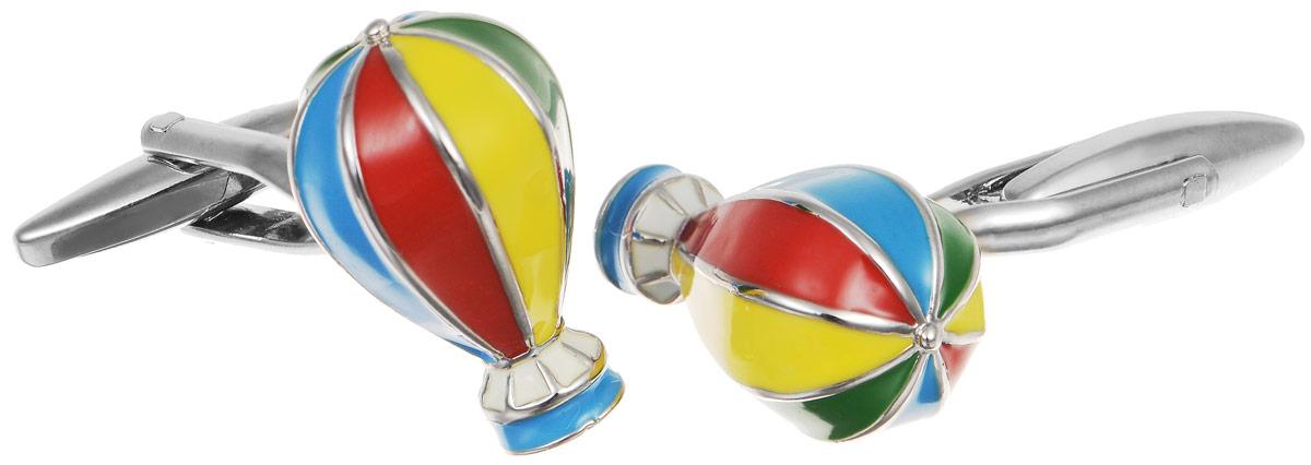Запонки мужские Mitya Veselkov Воздушные шары, цвет:серебряный, мультиколор. ZAP-169ZAP-169Запонки современного дизайна Mitya Veselkov Воздушные шары изготовлены из металлического сплава. Изделие застегивается на вращающийся штырек. Данная модель представлена в виде разноцветных воздушных шаров. Стильный аксессуар подчеркнет ваш образ, а также придаст элегантность и неповторимость имиджу.