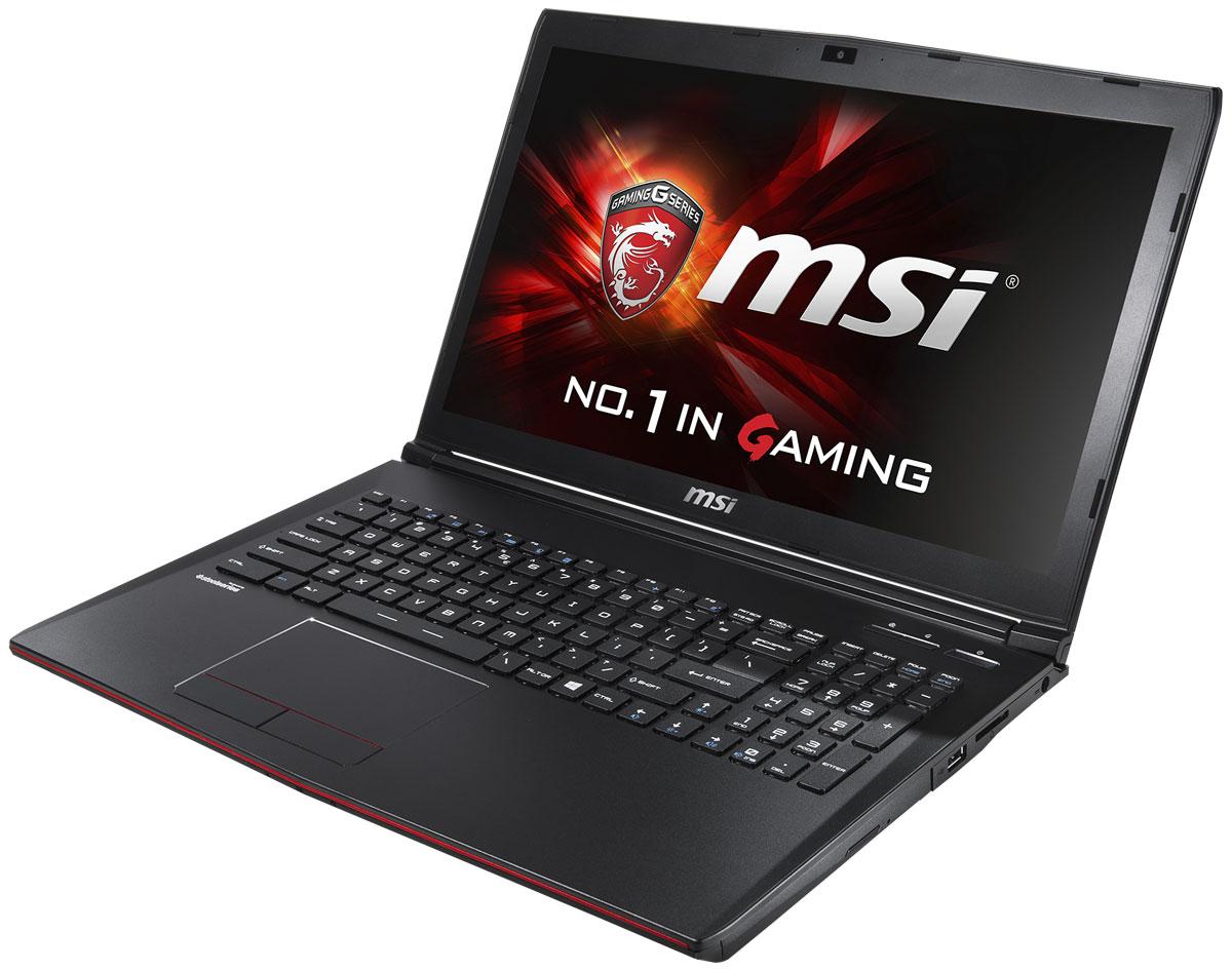 MSI GE62 6QE-464XRU Apache Pro, Black