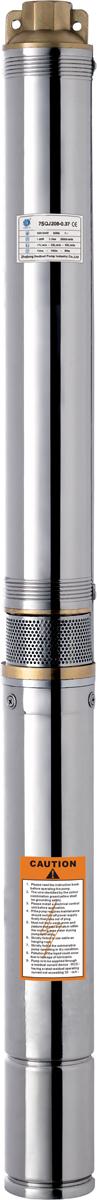 Скважинный насос Вихрь СН-6068/3/7Напряжение питания - 220/50 В/Гц Степень защиты - IPX8 Полезная мощность - 800 Вт Максимальная высота подъема воды - 60 м Максимальная производительность - 3000л/час Максимальная температура воды - +35°С Диаметр насоса - 75 мм Диаметр выходного отверстия - 1 дюйм