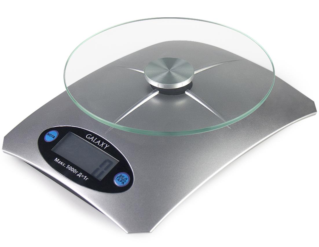 Galaxy GL 2802, Grey весы кухонные ( 4630003367969 )