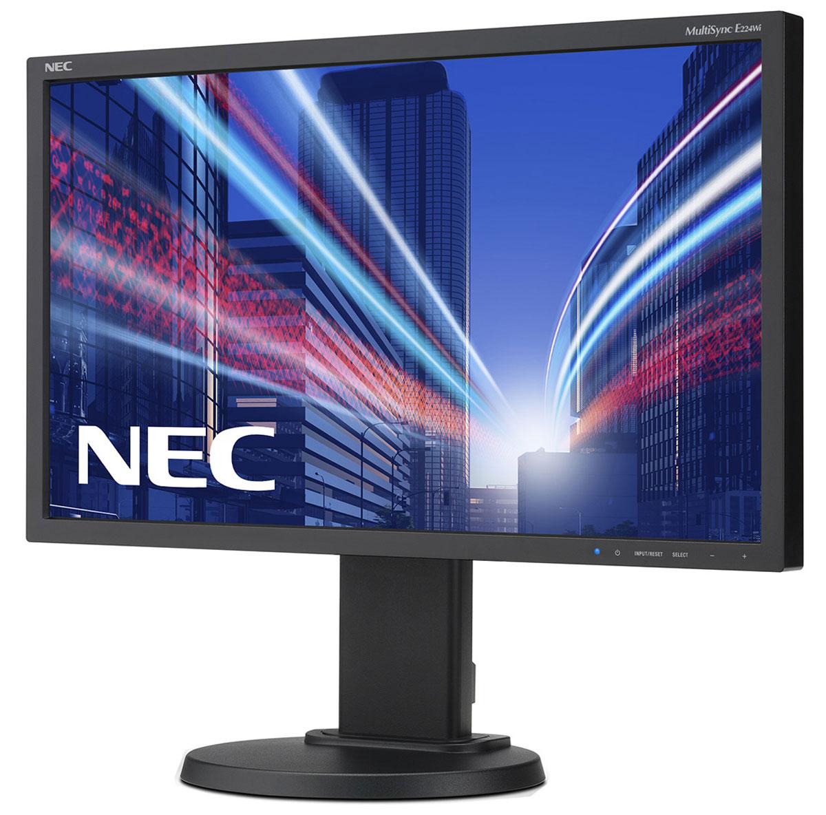NEC E224Wi-BK, Black монитор