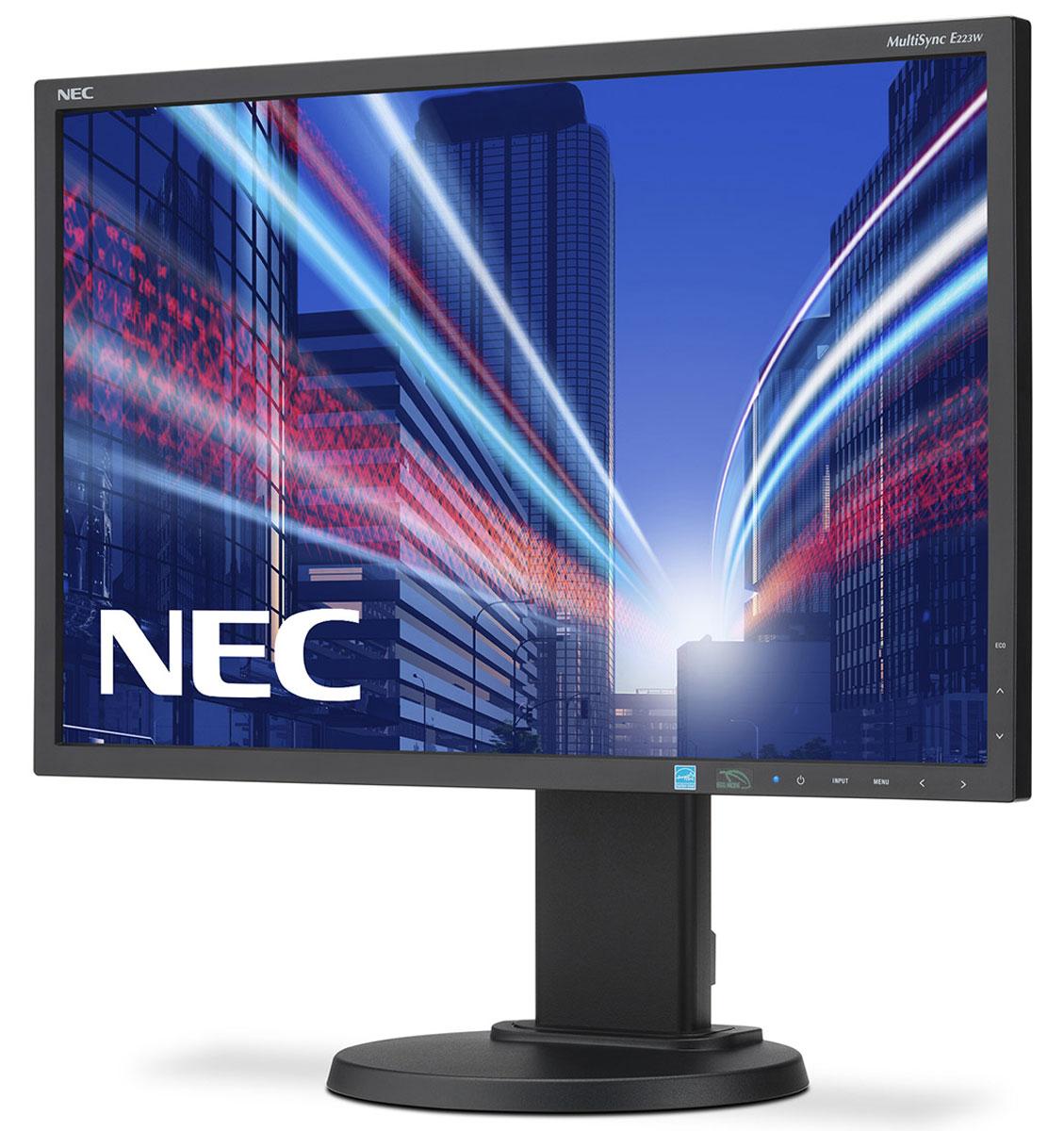 NEC E223W-BK, Black монитор