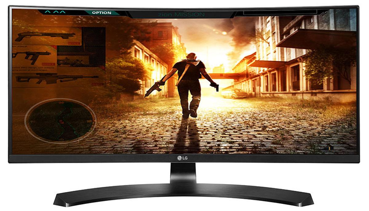 LG 29UC88-B, Black монитор29UC88-BМонитор LG 29UC88-B идеально подходит для развлечений и работы с несколькими приложениями. Изогнутый экран LG 29UC88-B формата 21:9 с разрешением 2560x1080 обеспечивает качественное и комфортное для глаз изображение. Полное отсутствие эффектов смещения или искажения цвета. Вдохновившись красотой и мощью природы, LG разработали дизайн ArcLine, придающий монитору изысканный стиль. Наступила совершенно новая эра технологии FreeSync. Монитор LG 29UC88-B с изогнутым экраном формата 21:9 с разрешением QHD обеспечивает плавное изображение и дает возможность играть на новом уровне. Игровой режим с подрежимами FPS, RTS и пользовательским подрежимом позволяет настраивать монитор в зависимости от жанра игры. Функция стабилизации черного цвета (Black Stabilizer) особенно удобна для обнаружения объектов, в том числе врагов, скрывающихся в темных областях. Функция динамической синхронизации действий (Dynamic Action Sync) ...