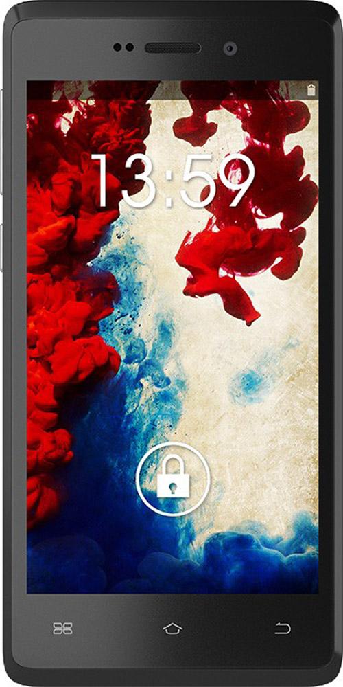 Keneksi Flame, BlackFlame blackКомпактный смартфон с впечатляющими характеристиками. Keneksi Flame оснащен емким аккумулятором на 2900 мАч, благодаря ему вы сможете длительное время оставаться на связи. Flame оснащен ярким дисплеем с диагональю 4,5 дюйма и разрешением 480x854 пикселей. На экране удобно просматривать мультимедийный контент, вы можете наслаждаться множеством ярких деталей ваших фотографий и видео. Всё, что вам нужно для отличных снимков - просто прикоснуться к экрану, чтобы 5-мегапиксельная камера сделала отличный снимок. Теперь вы всегда успеете запечатлеть лучшие моменты вашей жизни. Увеличьте память телефона до 32 ГБ с помощью карты памяти microSD, и вы сможете сохранить все самое ценное для вас. Музыка, видео, фотографии, рабочие файлы - все, что нужно теперь всегда под рукой! Стильный корпус представлен в 2-х цветовых решениях, белом и черном цветах. Задняя панель выполнена под кожу, благодаря этому защищает ваш смартфон от мелких...