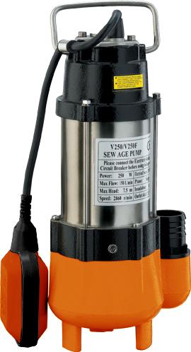 Фекальный насос Вихрь ФН-25068/5/1Максимальное количество включений - 20 час Максимальная высота подъема -7,5 м Напряжение - 220 В Частота - 50 Гц Тип электродвигателя - асинхронный, однофазный с короткозамкнутым ротором Максимальная подача - 9 м3/час Мощность - 250 Вт Диаметр пропускаемых частиц - 27 мм Нож (лезвие) - Нет Диаметр выходного патрубка - 1,25 дюйм