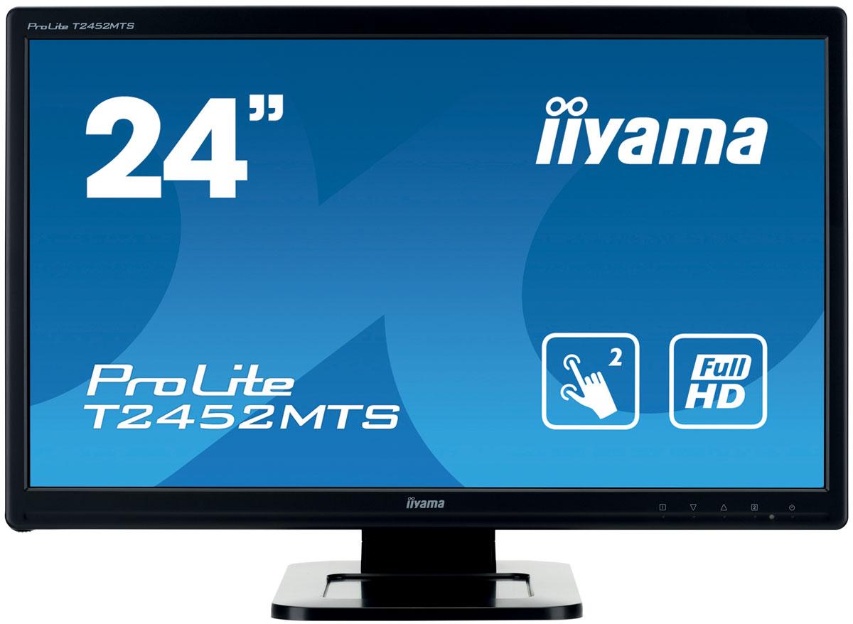 iiyama T2452MTS-B4, Black монитор