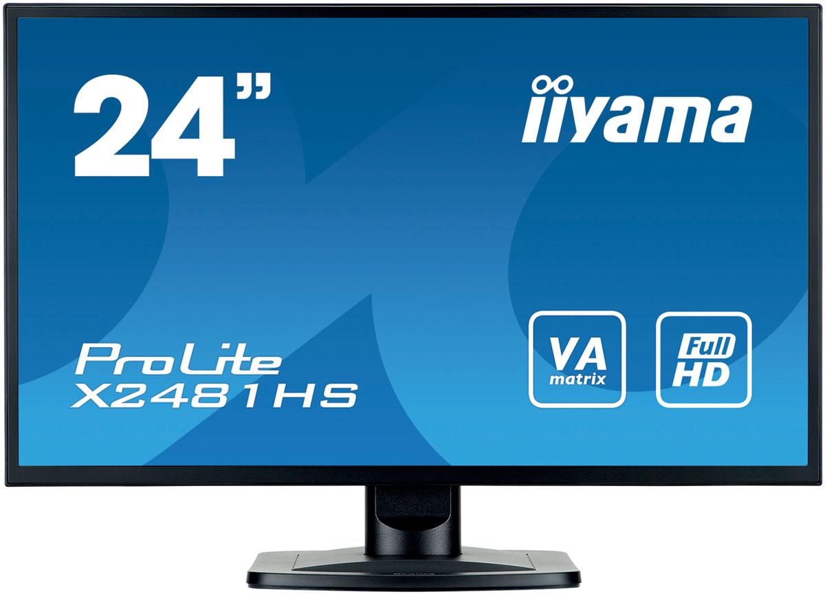 iiyama X2481HS-B1, Black монитор ( X2481HS-B1 )