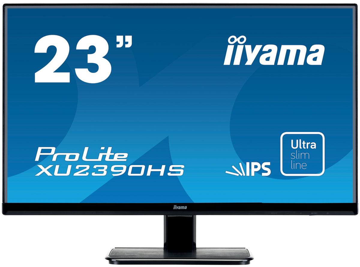 iiyama XU2390HS-B1, Black мониторXU2390HS-B1iiyama XU2390HS-B1 - высококачественный 23-дюймовый Full HD-дисплей, оснащенный светодиодной подсветкой и IPS панельной, гарантирующей точное и последовательное воспроизведение цвета с широкими углами обзора. Уровень динамического контраста этой модели превышает 5 000 000:1, а время отклика пикселей составляет 5 мс, что позволяет монитору демонстрировать отличное качество изображения. Наличие трех портов ввода обеспечивает полную совместимость со всеми новейшими графическими адаптерами. Монитор имеет сертификаты TCO и Energy Star. Модель идеально подойдет для образовательных, государственных, бизнес-структур и финансовых организаций.