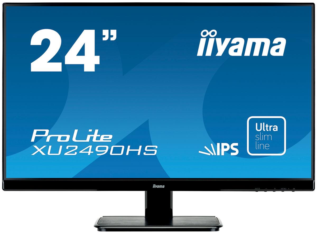 iiyama XU2490HS-B1, Black монитор