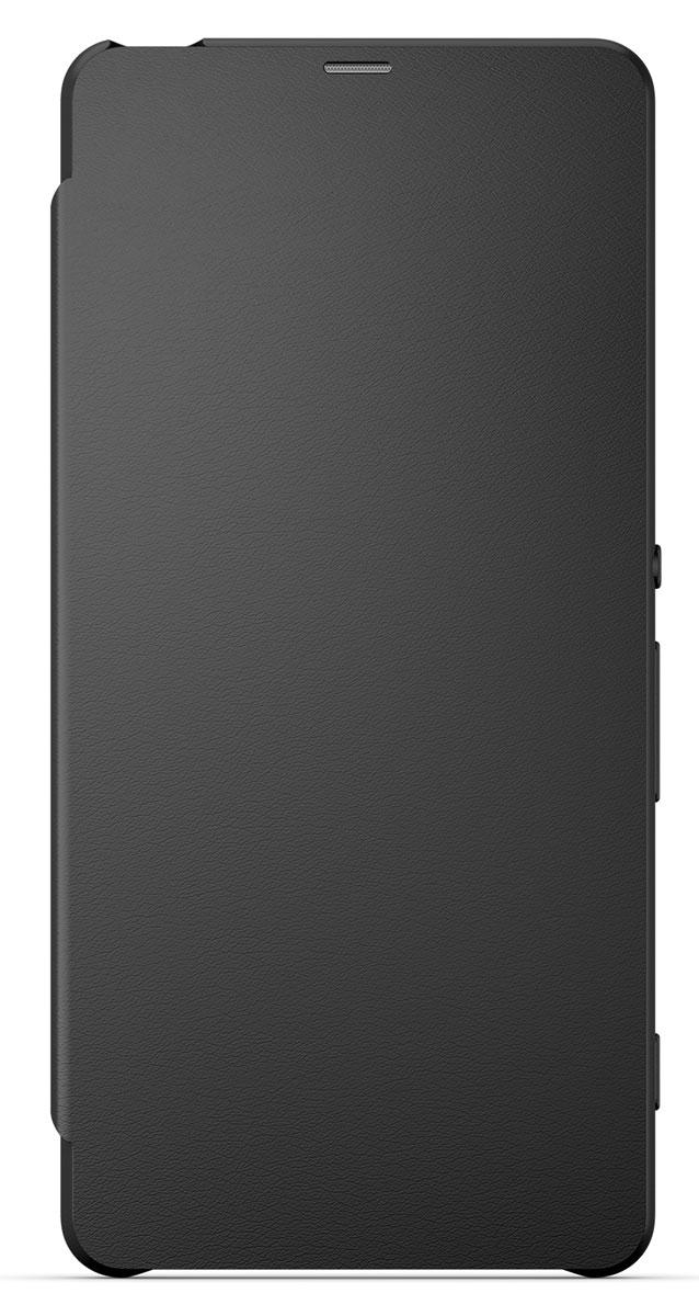 Sony SCR54 Flip Cover чехол для Xperia XA, Graphite Black