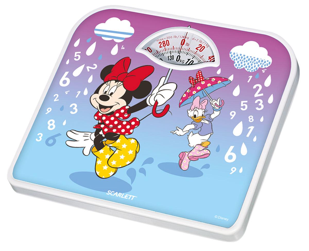 Scarlett SC-BSD33M951 Minnie and Daisy весы напольныеSC-BSD33M951Напольные весы Scarlett SC-BSD33M951 Minnie and Daisy - простой и удобный способ контролировать свой вес. Очень удобны для родителей, внимательно следящим за весом своих детей. Цена деления: 1 кг