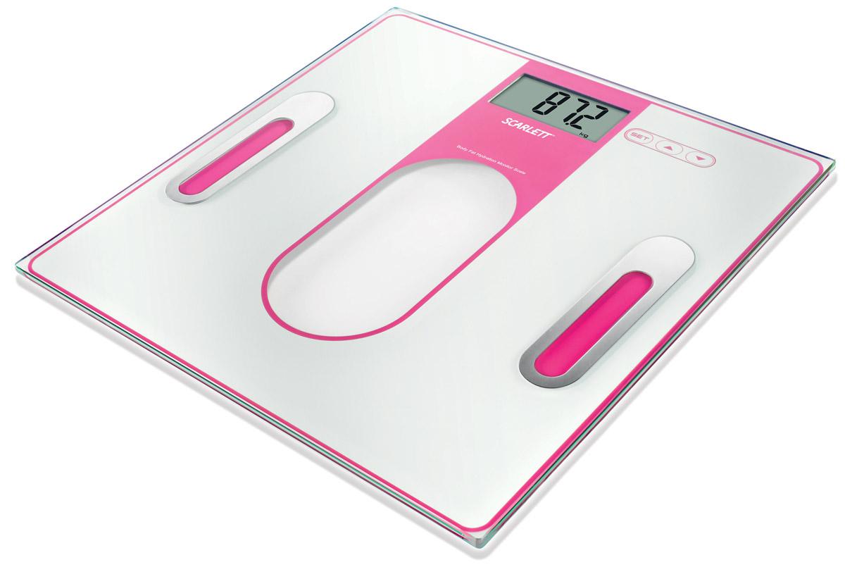 Scarlett SC-212, Pink весы напольныеSC-212Напольные электронные весы Scarlett SC-212 - неотъемлемый атрибут здорового образа жизни. Они необходимы тем, кто следит за своим здоровьем, весом, ведет активный образ жизни, занимается спортом и фитнесом. Очень удобны для будущих мам, постоянно контролирующих прибавку в весе, также рекомендуются родителям, внимательно следящим за весом своих детей.