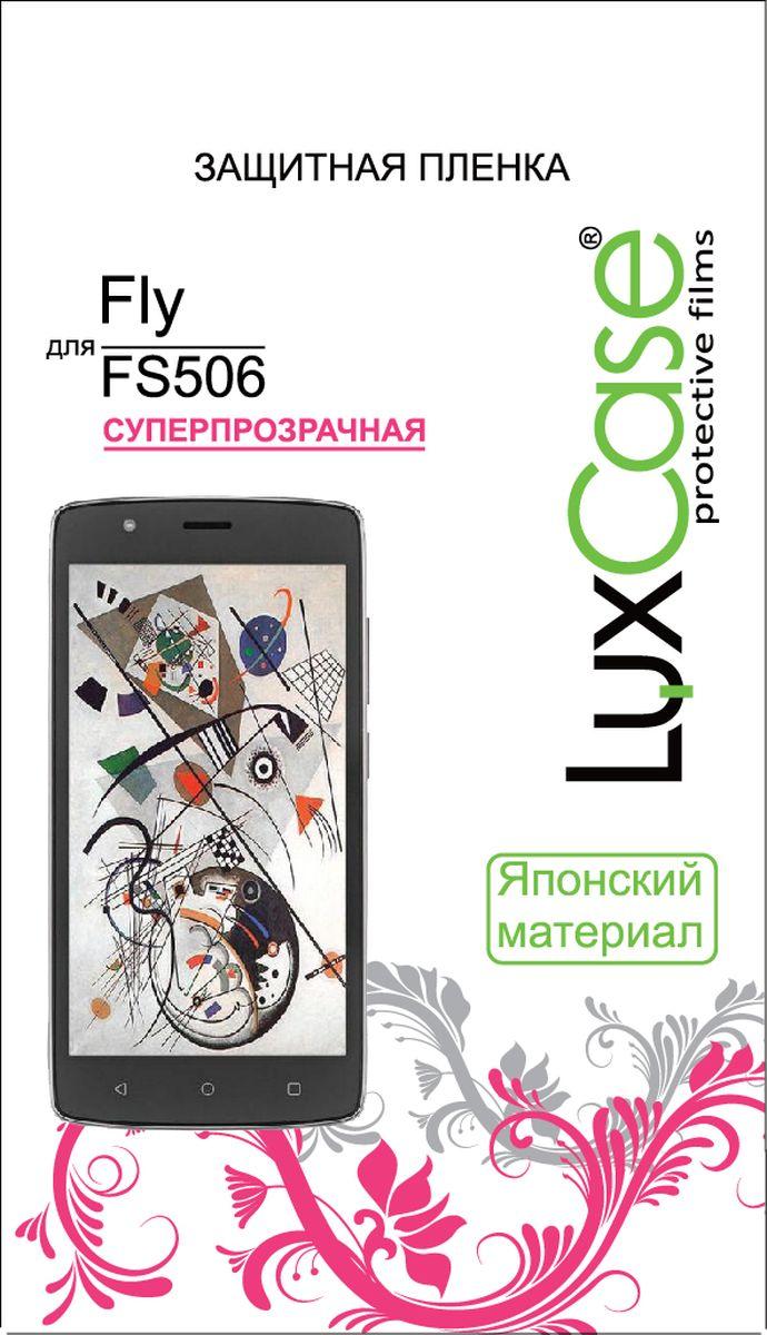LuxCase защитная пленка для Fly FS506, суперпрозрачная