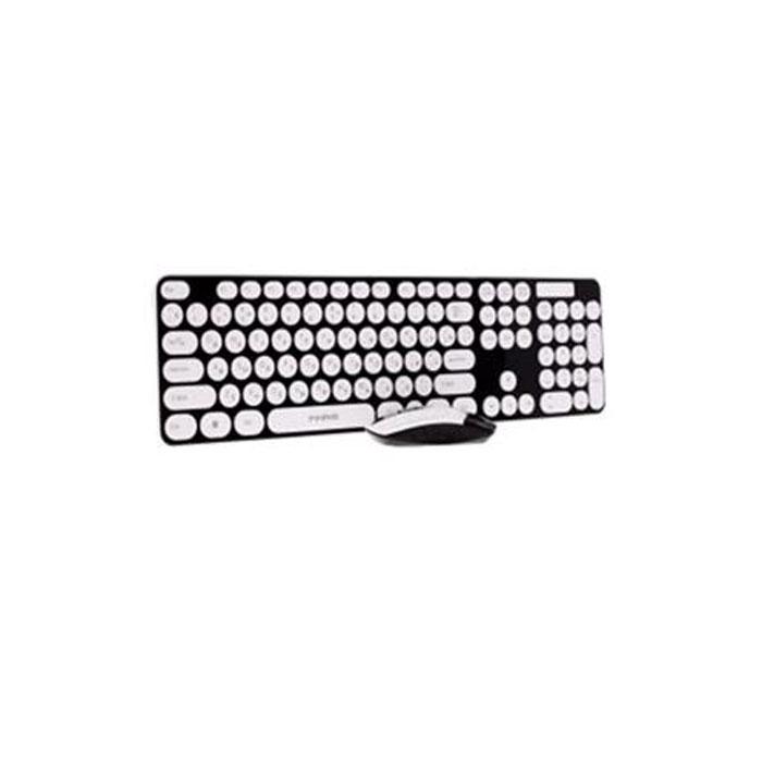 Marvo KС-403W, Black White клавиатура + мышь ( KC-403W BK )