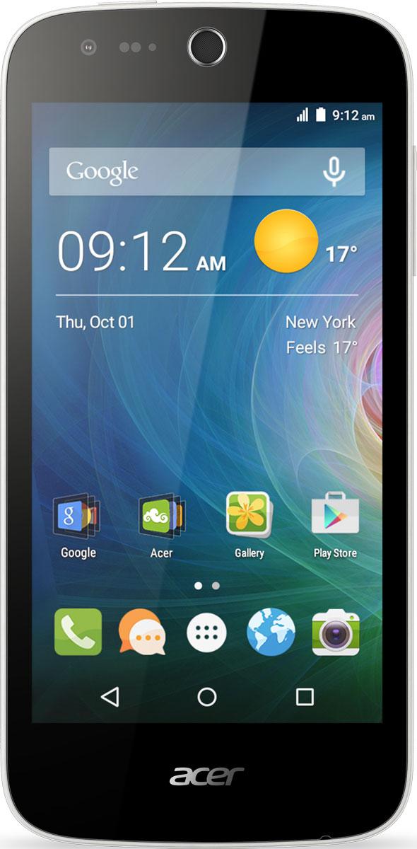 Acer Liquid Z330, WhiteHM.HQ0EU.002Снимайте превосходные фото и видео смартфоном Acer Liquid Z330 с LTE. Благодаря технологии IPS все ваши фотографии и мультимедийный контент выглядят ярко и динамично на дисплее 4,5 даже при широких углах обзора. А благодаря технологии Acer BluelightShield продолжительный просмотр фото и видео не нанесет вреда зрению. Делайте превосходные снимки на основную камеру 5 мегапикселей с автофокусом. Используйте настройки экспозиции, чтобы корректировать фокус и яркость. Переключитесь на фронтальную камеру 5 мегапикселей, чтобы сделать качественное селфи. Оцените высокое качество звука технологии DTS Studio Sound. Благодаря поддержке широкого звукового диапазона вы сможете насладиться музыкой и видеороликами на смартфоне Acer Liquid Z330. Телефон сертифицирован EAC и имеет русифицированный интерфейс меню и Руководство пользователя.