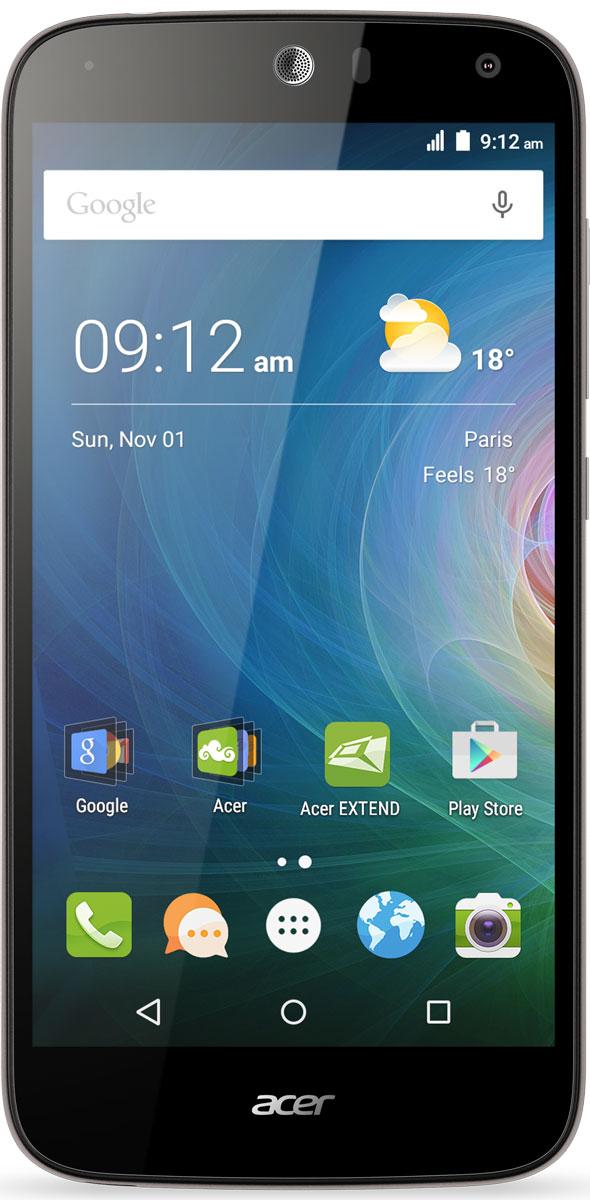 Acer Liquid Z630, SilverHM.HQGEU.002Оцените возможности смартфона Acer Liquid Z630: продолжительное время автономной работы, превосходную производительность и высочайшее качество изображения на 5.5 HD-дисплее с технологией IPS. Мощный 64-разрядный четырехядерный процессор обеспечивает быстрое время отклика, удобство работы в браузере, плавное воспроизведение видео и прохождение видеоигр на великолепном 5,5 HD-экране. Батарея 4000 мАч обеспечивает бесперебойную работу устройства в течение всего дня без подзарядки. Удивите своих друзей. Снимите общее сэлфи высокого качества на камеру с широким углом съемки, просто сказав Чиз. Снимки сэлфи с разрешением 8 МП будут прекрасно смотреться на дисплее с технологией IPS, которая обеспечивает высокое качество изображения под любым углом обзора. Заряжайте телефоны друзей с помощью своего мобильного устройства через порт MicroUSB. Кроме того, вы можете подключить к этому порту флэш-накопитель USB, чтобы воспроизводить медиаконтент,...