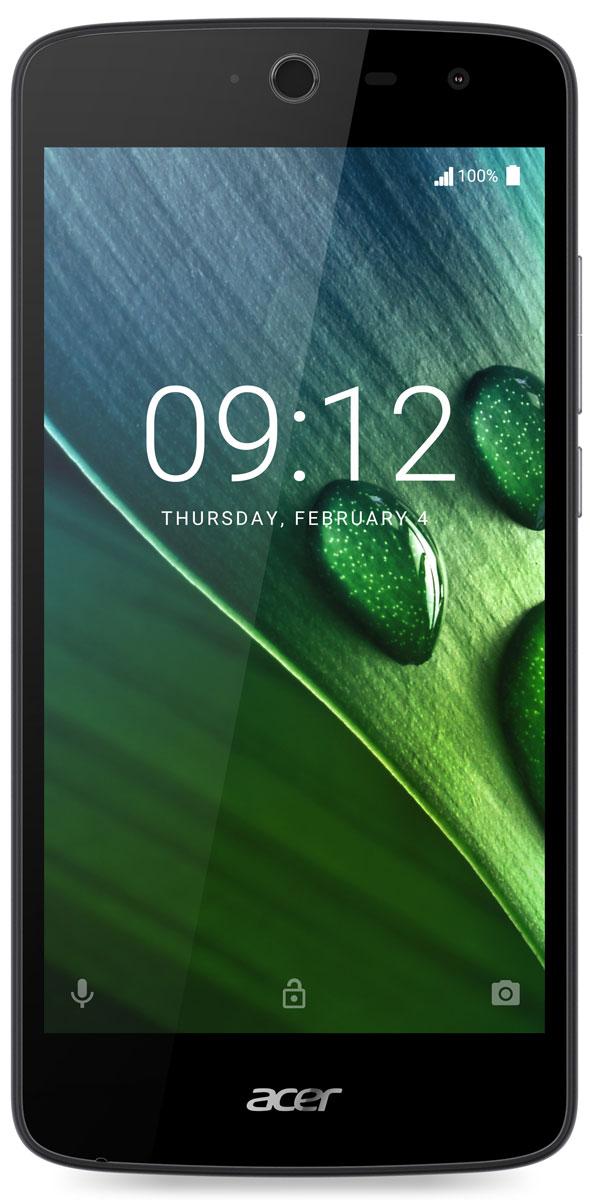 Acer Liquid Zest Z528, BlackHM.HVCEU.002Смартфон Acer Liquid Zest позволит запечатлеть все яркие моменты и поделиться ими с друзьями. Даже простая поездка на небольшое расстояние может превратиться в настоящее приключение. 5-дюймовый IPS-экран это превосходное качество изображения. Кроме того, технология Zero Air Gap обеспечивает отличную видимость даже при ярком солнечном свете, а технология On-Cell Touch уменьшает количество бликов. Технология DTS-HD Premium Sound обеспечивает четкое и глубокое звучание с насыщенными басами без искажений даже на максимальной громкости. Вы всегда сможете запечатлеть даже самые неожиданные моменты и сразу же поделиться ими благодаря основной камере 8 Мпикс. А фронтальная камера 5 Мпикс с широкоугольным объективом 85° позволит собрать на селфи еще больше людей. Телефон сертифицирован EAC и имеет русифицированный интерфейс меню и Руководство пользователя.