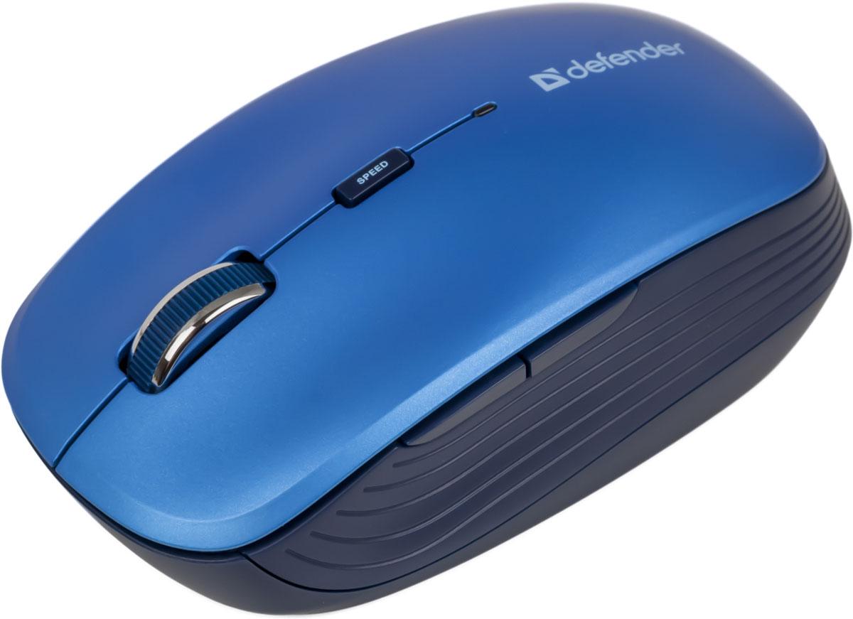 Defender Ayashi MS-325, Blue беспроводная оптическая мышь