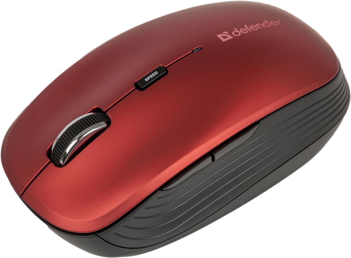 Defender Ayashi MS-325, Red беспроводная оптическая мышь