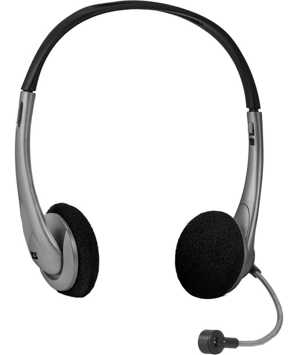 Defender Aura 114, Black Gray компьютерная гарнитура