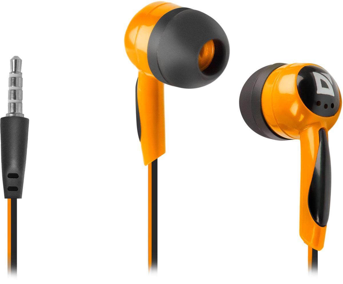 Defender Basic 604, Black Orange наушники