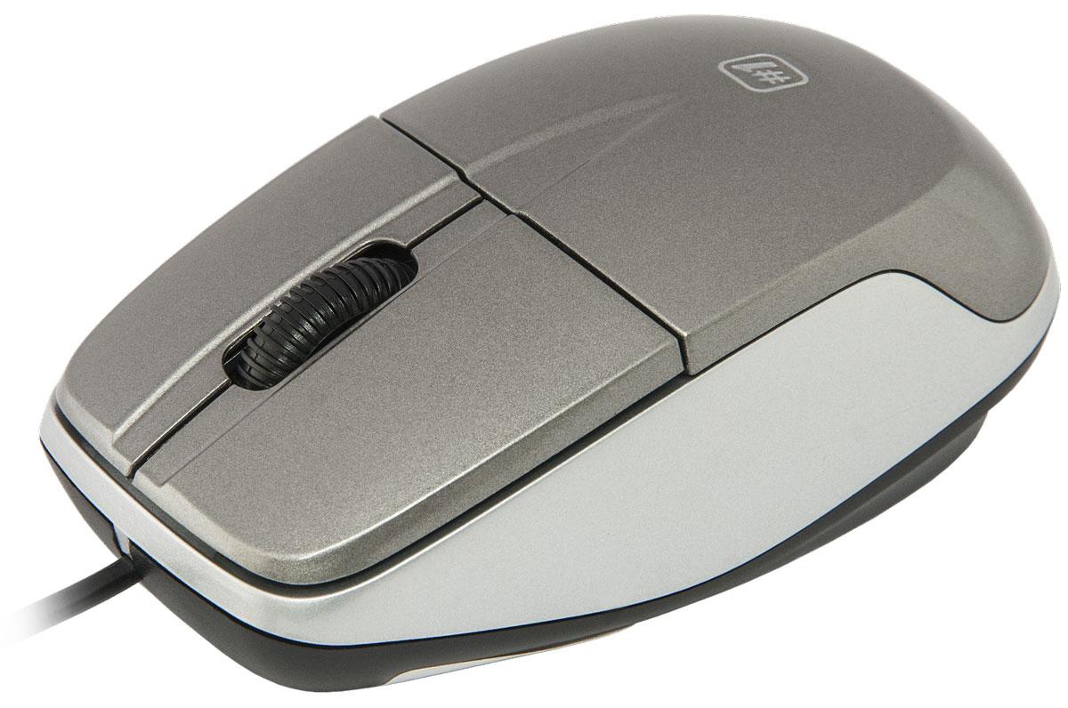 Defender №1 MS-940, Gray проводная оптическая мышь ( 52942 )