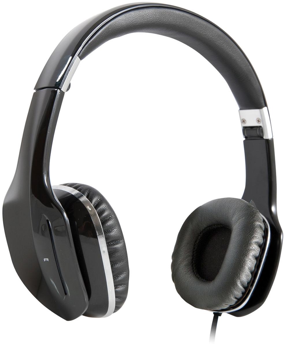 Defender Eagle 874, Black накладные наушники63874Defender Eagle 874 обеспечат кристально чистый звук! Прослушивание музыки доставит истинное удовольствие как ценителям классической музыки, так и поклонникам рока. Наушники не искажают звучание даже самых сложных аудиокомпозиций. Компактная складная конструкция: наушники можно легко сложить, а специальный чехол для хранения и перевозки (в комплекте) позволит взять их с собой в любую поездку. Вы можете также использовать наушники с плоским удлиненным кабелем и в помещении.